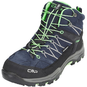 CMP Campagnolo Rigel Mid WP Trekking Shoes Junior Asphalt-Ice Mint